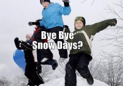 E-learning Days|Bye Bye Snow Days?